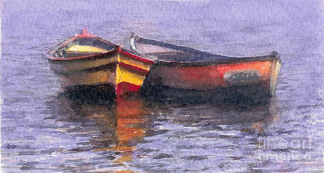 Barcas by Jose Maria Diaz Ligueri