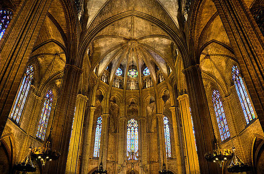 Barcelona Cathedral by Jack Daulton
