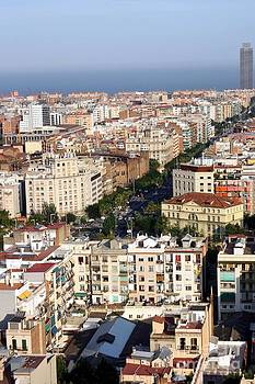 Sophie Vigneault - Barcelona city