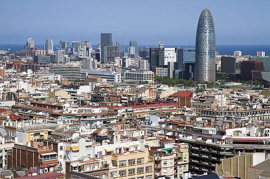 Barcelona Cityscape by Nathan Rupert