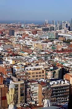 Sophie Vigneault - Barcelona cityscape