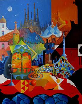 Barcelona  by Ray Gilronan
