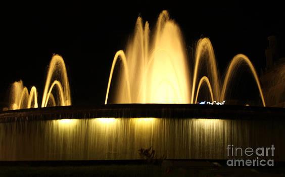 Gregory Dyer - Barcelona Spain - Placa de Catalunya Fountain