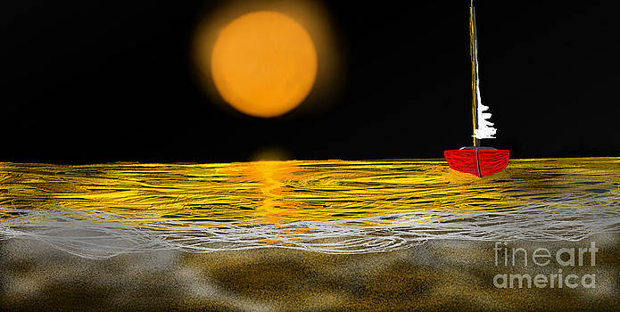 Barchetta Rossa by Jiovanni Dim