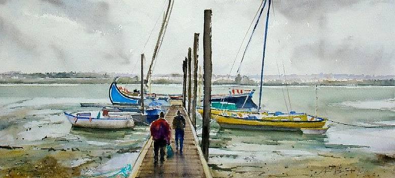 Barcos no Tdejo by Antonio Bartolo