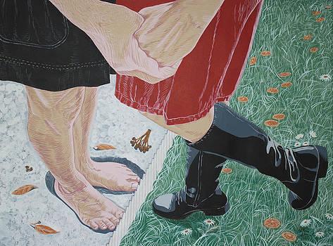 Bare Feet by Maria Bozina