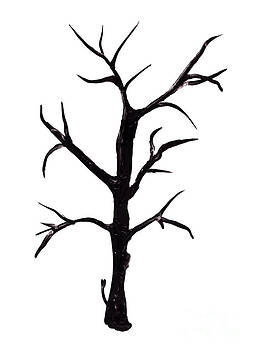 Simon Bratt Photography LRPS - Bare tree painting isolated