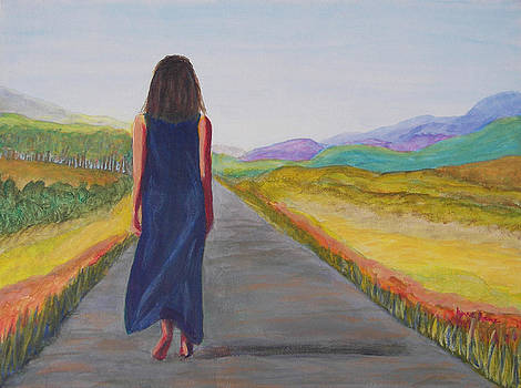 Barefoot on the Path by Lynne Rene