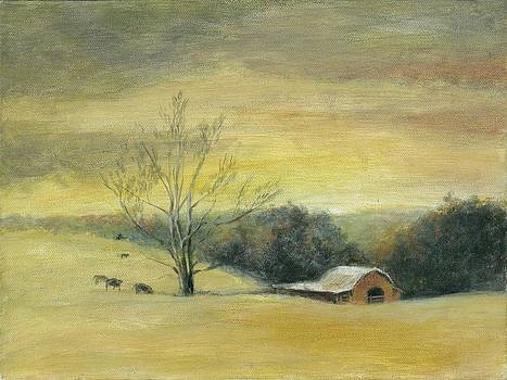 Barn at Hickory Flat by Ann Litrel