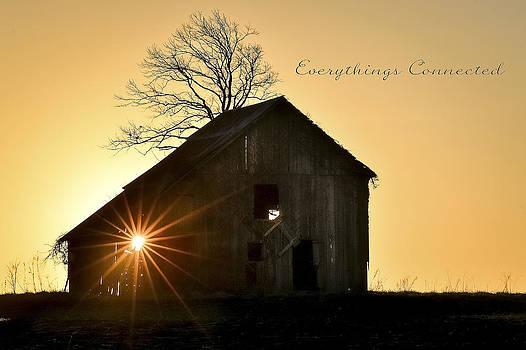 Barn at Sunrise by Garett Gabriel