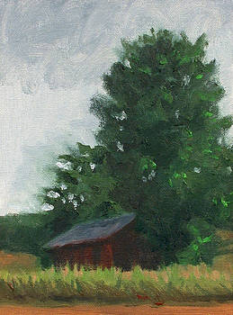 Charles Pompilius - Barn at Thoreson Farm