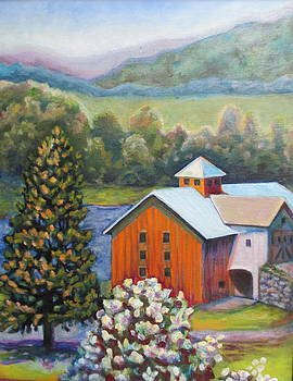 Barn by the Lake by Karen McKean