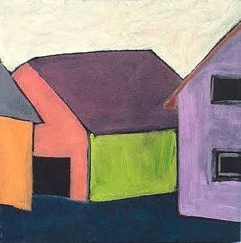 Barn Conversation by Molly Fisk