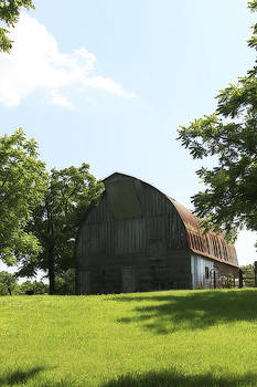 Prairie Barn with Gothic Roof by CE Haynes