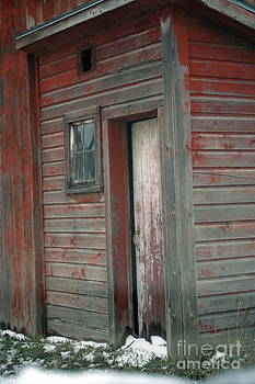 Barn Door by Adele Pfenninger