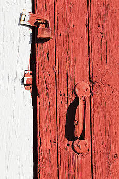Barn Door Close-up by Alan L Graham