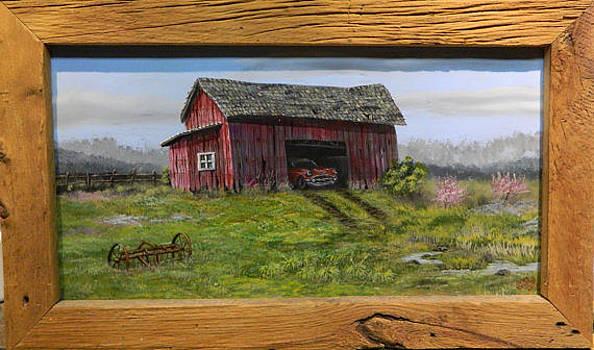 Barn Find 57 Chevy by Greg Neubert