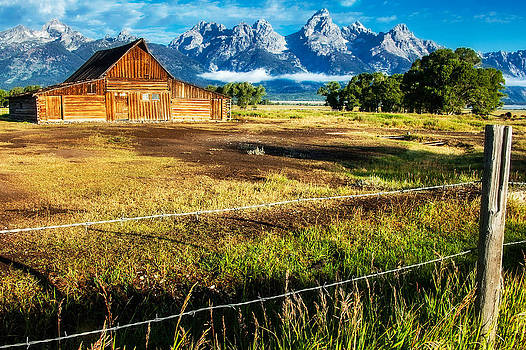 Barn on the Western Frontier by Kirk Strickland