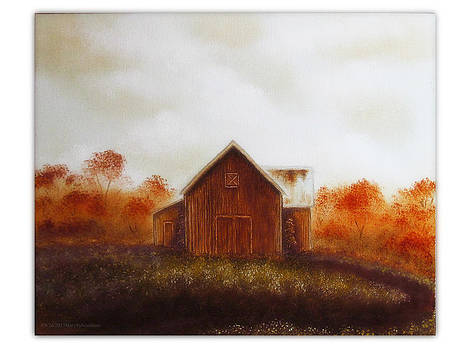 Barn Study 1 by Mary Sylvia Hines