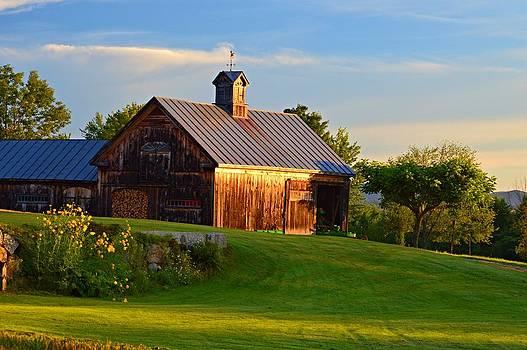 Barn Sunrise by Sharon L Stacy