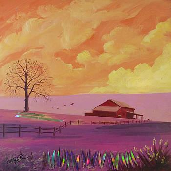 Barn Tree by Jack Hanzer Susco