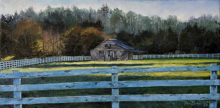 Barnardsville Barn by Ben Bensen III