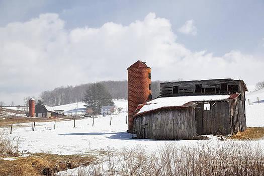 Jill Lang - Barns and Silos in Winter
