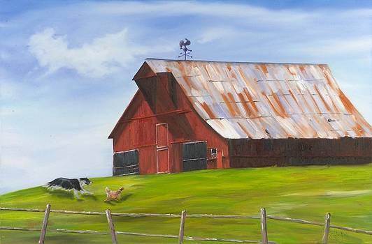 Barnyard Romp by Pamela Bell