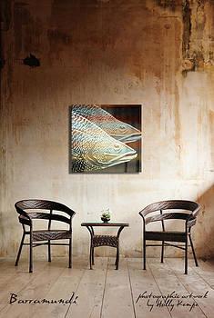 Holly Kempe - Barramundi Wall Art