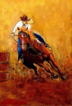 Barrel Horse. by Kendrew Lascelles