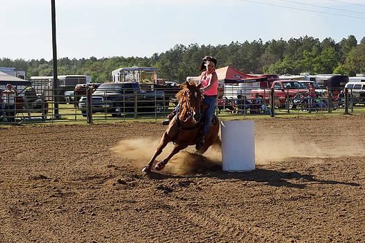 Barrel Racing in GA by Kim Pate