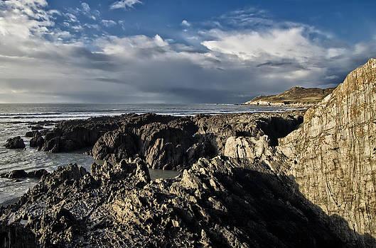 Barricane Beach in North Devon by Pete Hemington
