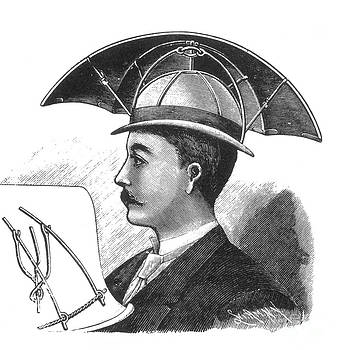 Science Source - Bartines Sunshade Hat 1890