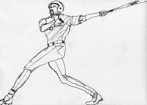 Allen Forrest - Basebal Hit