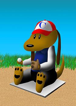 Jeanette K - Baseball Dog