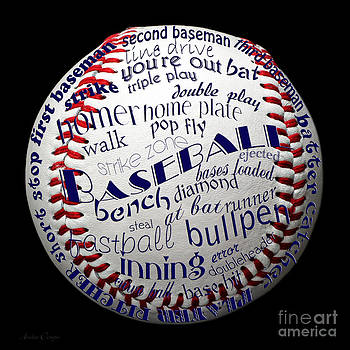 Andee Design - Baseball Terms Typography 1