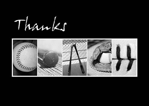 Kathy Stanczak - Baseball Thanks Coach card