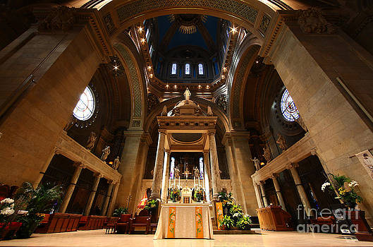 Wayne Moran - Basilica of St Mary Minneapolis Minnesota Interior