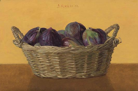 Basket Filled With Figs by Ben Rikken