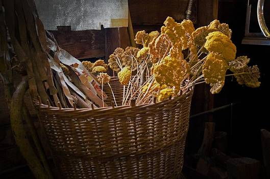 Basket of flowers by Cheryl Cencich
