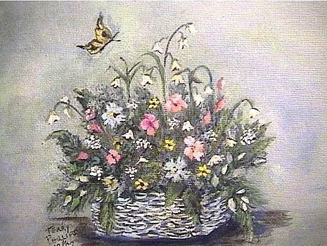 Basket of Spring  by Terry  Phillips