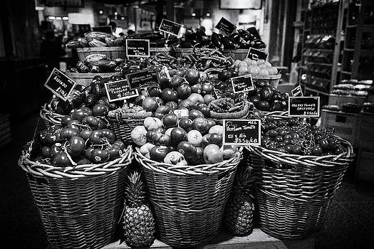 Basket Of Tomatoes by D Plinth