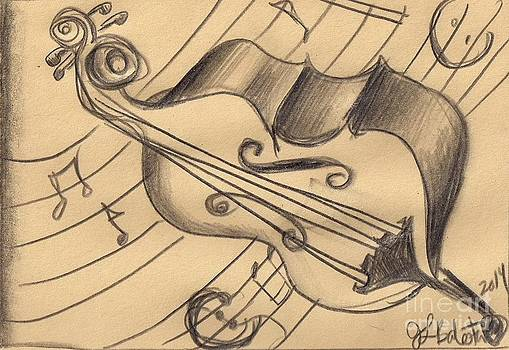Bass Doodle by Jamey Balester