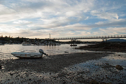 Bass Harbor at Low Tide by Kristen Mohr