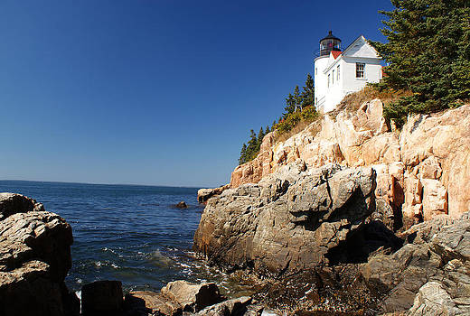 Bass Harbor Head Lighthouse 2 by Kristen Mohr