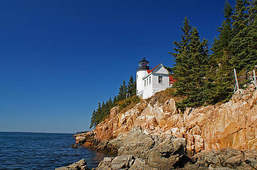 Bass Harbor Head Lighthouse by Kristen Mohr
