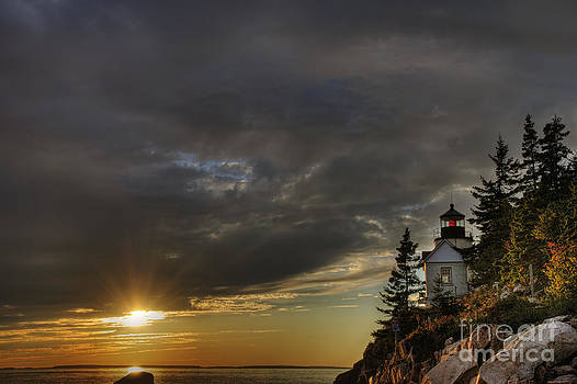 Oscar Gutierrez - Bass Harbor Lighthouse Acadia National Park
