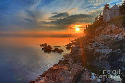 Adam Jewell - Bass Harbor Sunset