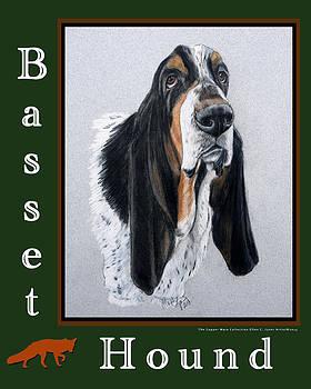 Basset Hound by Ellen Lyner