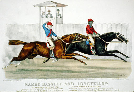 Bassett and Longfellow by Currier and Ives